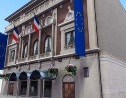 3D asset Paris Theater