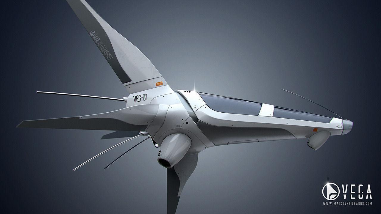 VEG-03 Spaceship