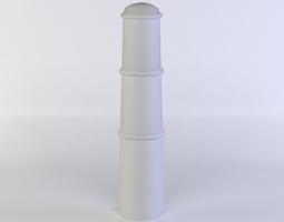 VR / AR ready 3d asset metal column
