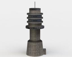 race tower VR / AR ready 3d asset