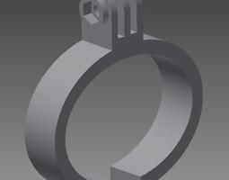 3d printable model gopro wristband
