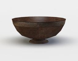 3d model realtime pottery bowl