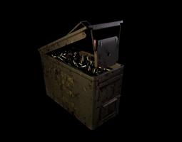 5 56 Ammo Box 3D model