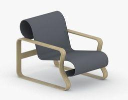 0049 - Modern Armchair 3D model