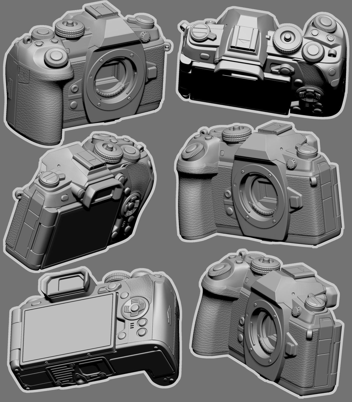 Camera Model-Olympus E-M1 Mark II