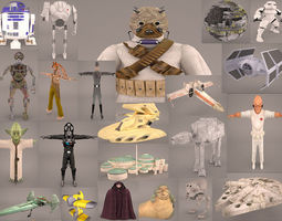 3D Star Wars Collection 1