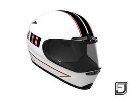3D model White Helmet
