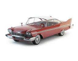 chrome Plymouth Fury 1958 3D