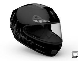 Black Helmet 3D