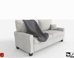 3D Contemporary Sofa high