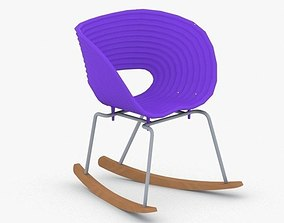 3D model low-poly 0084 - Modern Chair