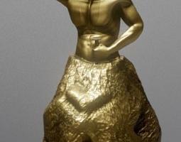 The Aprentice Sculture 3D print model