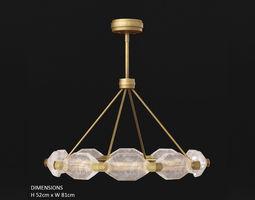3D model Fine Art Lamps Allison Paladino 873040