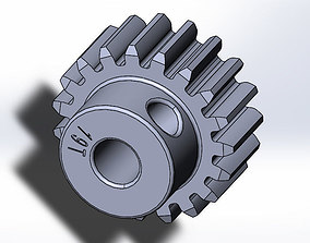 Tamiya TT-01 E Pinion Gear 19T 3d Print Model