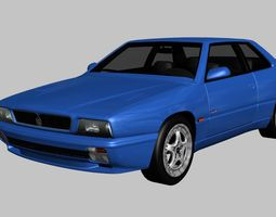 3D model Maserati Ghibli Cup 1997