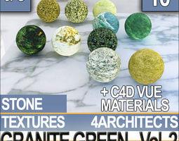 3D Granite Green and Materials Vol 2