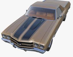 usa Chevrolet El Camino 3D model