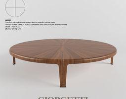 Giorgetti table 66550 3D