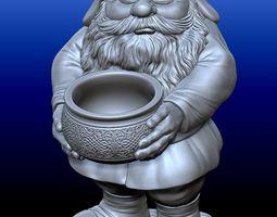 Gnome 1 3D print model
