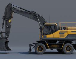 3D model Excavator EW205D