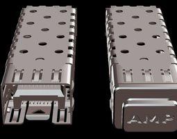 3D model SFP Port