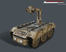 Tracked Vehicle 3D model