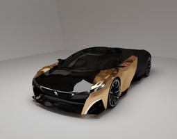 3D model Peogeot Onyx