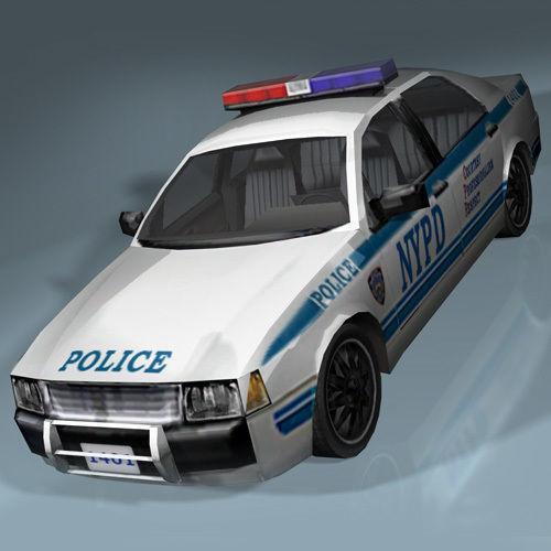 nypd police interceptor 3d asset vr ar ready cgtrader. Black Bedroom Furniture Sets. Home Design Ideas