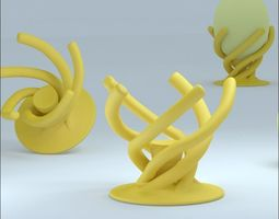 3D print model house BIOINSPIRED EGG-CUP