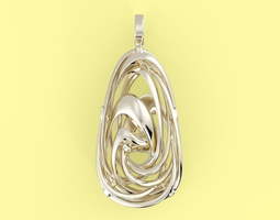 3D printable model Wavy Necklace