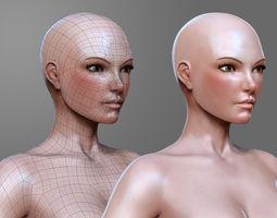VR / AR ready sculpt Woman Basemesh 3D
