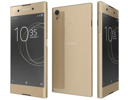 3D Sony Xperia XA1 Plus Gold