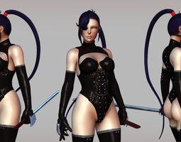 Ninja Homura 3D Model japanese