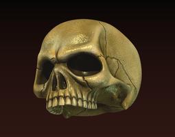 Skull 3D asset realtime
