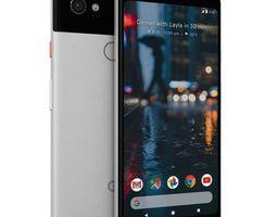 3D asset Google Pixel 2 XL White
