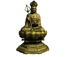 Jizo Buddha model