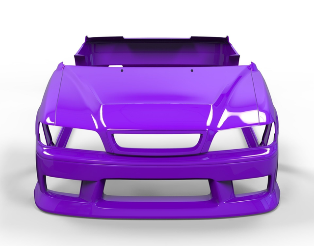 body kit for toyota chaser m-sport 3d model low-poly max obj mtl 3ds fbx 1