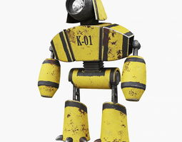 Robot K-01 3D model