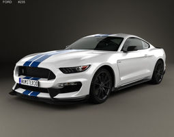 Ford Mustang Shelby GT350 2015 3D
