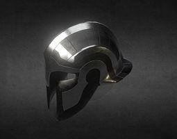 3D model Fantasy Greek helmet