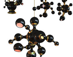 3D ATOMIC SUSPENSION LIGHT