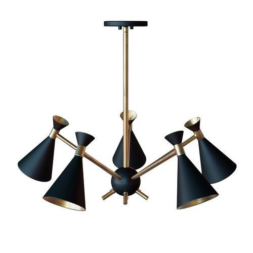 Draper 5 Light Chandelier By Design Craft Model