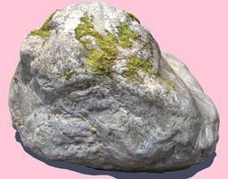 3D Elisabeth Moss Rock