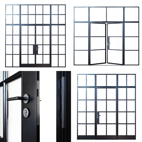 steel houston center de cheap lis half double clearance doors lite door unit fleur prehung exterior