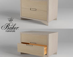 3D model BAKERS KONA SINGLE CHEST 3301