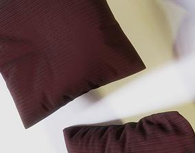 Set of 8 pillows 3D model