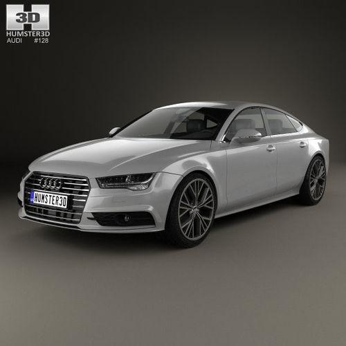 Tag For Audi A7 2018 2018 Audi A7 Exterior Sportback 3d: Audi A7 Sportback S-Line 2015 3D