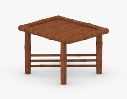 3D model 0434 - Coffee Table