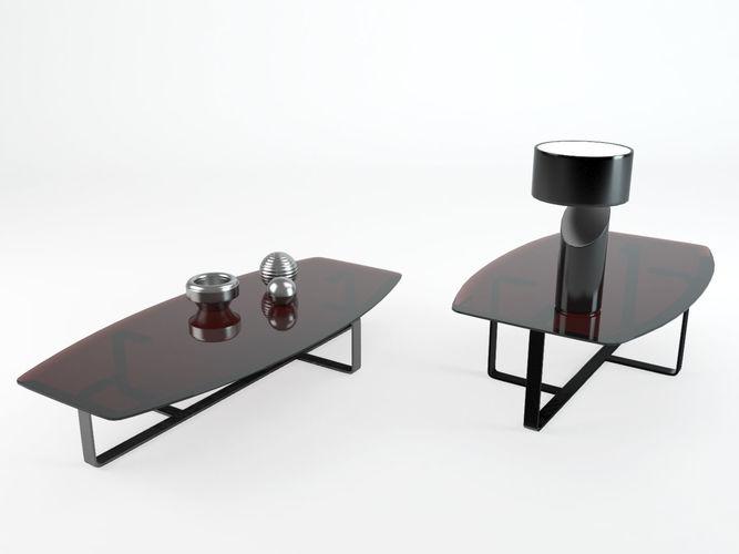 Table Tempo Natuzzi 3d Model