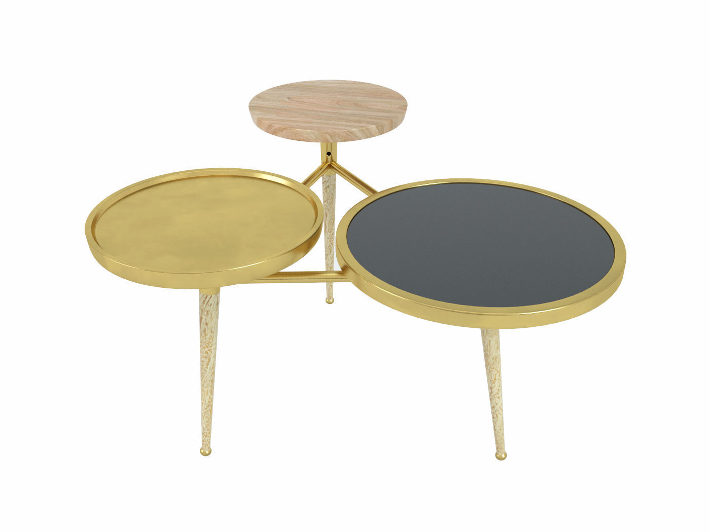 3d Table Gatsby Maisons Du Monde Cgtrader